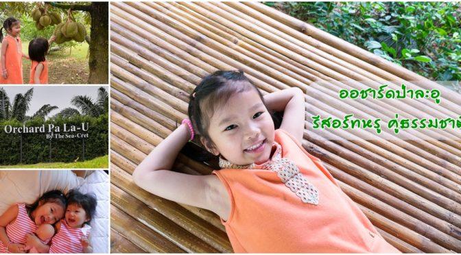 Orchard Pa La-U ออชาร์ดป่าละอู พักผ่อนแบบหรูคู่ธรรมชาติ